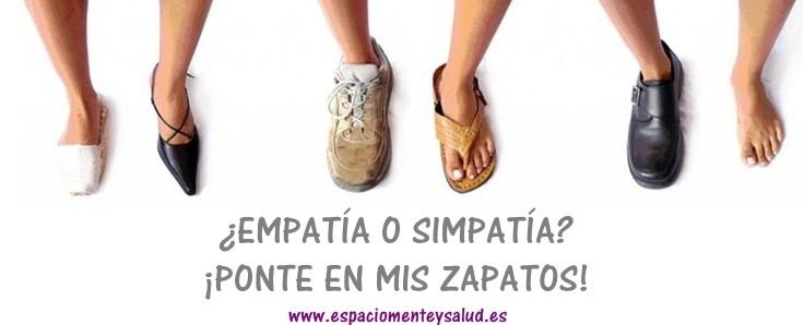 ponte en mis zapatos
