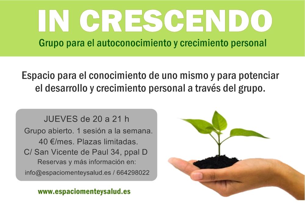 In Crescendo (Grupo de crecimiento personal)