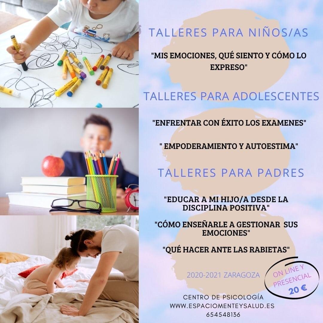 Talleres para niños en Zaragoza